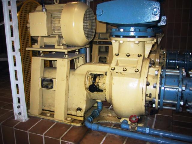Klärschlamm-Pumpe